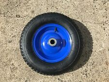 "16"" 400mm Barrow Wheel 4.80 / 4.00 X 8 Metal Rim 210 Kg 25mm Bore"