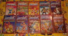 Masters of the Universe Kassetten MC Folge 1 2 3 4 5 6 7 8 9 & 10 - MotU He-Man