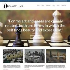 "CHESS Website Business For Sale - £303.99 A SALE. ""9000 Visitors a Month"""
