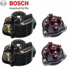 Mercedes R129 W124 500E OEM Set of 2 Distributor Cap with 2 Ignition Rotor NEW