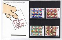 GB 1979 European Assembly Elections Presentation Pack VGC. Stamps. Free postage!