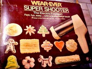 WearEver COOKIE SUPER SHOOTER Beige 70123 / White 70001 REPLACEMENT PARTS-Choose
