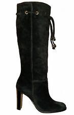 Women's Slim High Heel (3-4.5 in.) Suede Pull on Shoes
