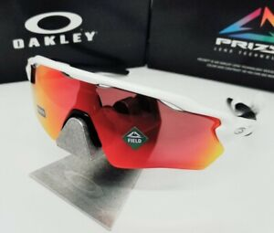 "Boy's OAKLEY white ""PRIZM FIELD"" RADAR EV XS PATH sunglasses! NEW! *(YOUTH)*"
