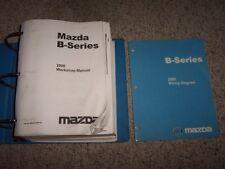 2000 Mazda B2500 B3000 B4000 Truck Service Repair Manual SX SE TL 4WD 3.0L 4.0L