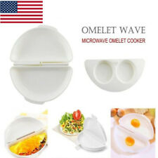 Microwave Omelet Maker Eggs/Cheese/Peppers/Spinach Kitchen Tools & Gadgets US