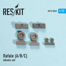 RESIN WHEELS SET FOR RAFALE (A/B/C) 1/72 RESKIT 72-0032