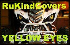 "Yamaha 660 Raptor REAPER Eyes HeadLight Covers ""ORIGINAL RUKINDCOVERS"" ALL YEARS"