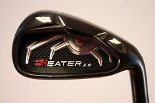 1 MENS GOLF CLUB IRON SET 7 8 9 PW AW SW BLACK CUSTOM