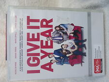 GIVE IT A YEAR ROSE BYRNE ANNA FARIS,RAFE SPALL  DVD MA R4