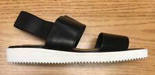 Everlane Italian Leather Street Sandal, Black, 6