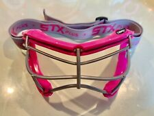 Stx 4sight Plus-S Youth Girls Lacrosse / Field Hockey Goggles - Pink/Punch
