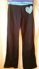 SO Black Yoga Pants with Heart size- XS Juniors