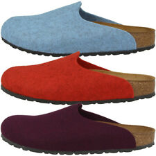 Birkenstock Amsterdam Wollfilz Clogs Schuhe Pantoletten Hausschuhe Sandalen 424c5695ecd