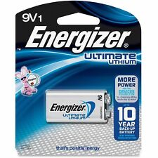 Energizer Ultimate Lithium Batteries 9v 1 Each