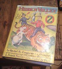 Hidden Valley of OZ 1951 First RACHEL R COSGROVE Illustrated by DIRK Rare LOOK