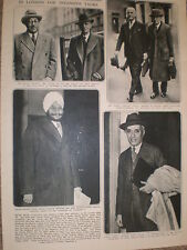 Photo article Viceroy India Lord Wavell and Indian leaders London 1946 ref Z2