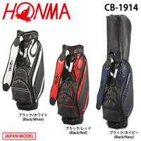 "2019 HONMA GOLF JAPAN STYLISH MODEL CADDY BAG CB-1914  9.0"" 8.16 lb 19ss"
