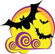 sticker decal car bike bumper halloween spooky kid horror bat horror