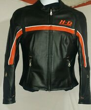 NWOT womens harley davidson leather jacket sz small