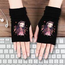 Demon Slayer Anime Fingerless Gloves Warm! UK Seller! Perfect Gift!