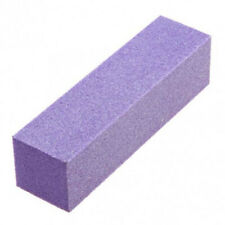12pc White Grit Purple Sanding 3-Way 60/60 Nail Buffer Blocks NEW