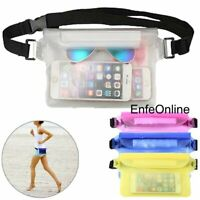Swimming Waterproof Waist Strap Unisex Pouch Bag Case Cover For Cell Phone Hot