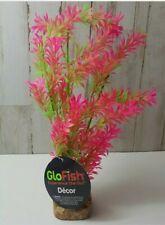 Tetra GloFish Plant Large Green/Pink NEW Aquarium Decoration