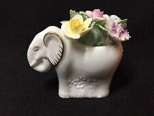Vintage!! Royal Doulton Beautiful Hand Painted Bone China Elephant Figurine