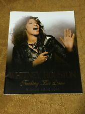 """Whitney Houston"" Tourbook Nothing But Love World Tour 2010 Booklet"