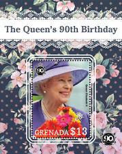 Grenada - 2016 - HRH Queen Elizabeth II 90th Birthday - Souvenir Sheet - MNH