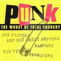 Punk-The worst of total Anarchy Sex Pistols, Sham 69, Red Hot Chili Pep.. [2 CD]