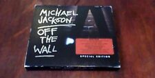 Michael Jackson Off The Wall Special Edition w/ Slipcase 1st Epic UK RE CD 2001