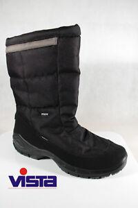 Vista Men's Boots Winter Boots Black Tex Waterproof New