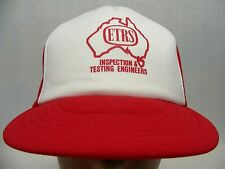 ETRS - INSPECTION AND TESTING ENGINEERS - TRUCKER STYLE SNAPBACK BALL CAP HAT!