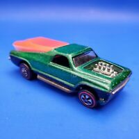 Hot Wheels Redlines Seasider 1969 Green with Original Boat USA Base CLEAN