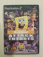 Nicktoons: Attack of the Toybots PS2 Game(Sony PlayStation 2, 2007)CIB TESTED