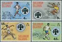 Solomon Islands 1975 SG276-279 South Pacific Games set MNH