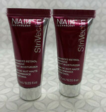StriVectin NIA114 Advanced Retinol Intensive Night Moisturizer .25oz set lot x 2