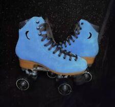 Suede Blue moon Light roller skates size 6 Men 7.5/8 women