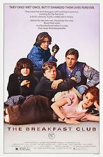 THE BREAKFAST CLUB (1985) ORIGINAL MOVIE POSTER  -  ROLLED