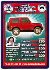 James S. American Suzuki Samurai #306 Top Gear Turbo Challenge Trade Card (C362)