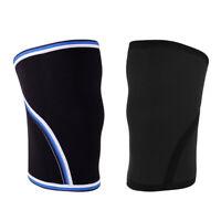 Weightlifting Powerlifting Fitness 7mm Compression Neoprene Knee Sleeve Kneepad