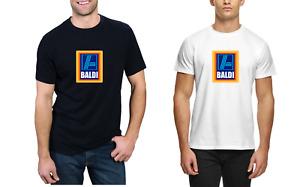 Baldi T-Shirt - Funny Novelty Aldi Supermarket Bald Men's Hilarious Tee Top Dads