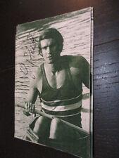 69230 Günther Pfaff Rudern Olympia original signiertes Reprofoto