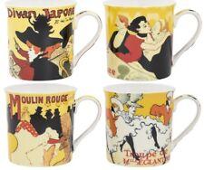 Leonardo Collection Chine tasses à café Henri de Toulouse Lautrec à thème Lot de 4