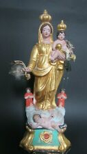 Vierge de Marseille en terre cuite Santibelli