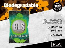 BLS Billes Bio 6mm Premium 0.23g - 1 KG pour Airsoft