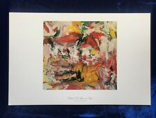 Untitled (red, Yellow, And Green) Willem De Kooning Art Reprint