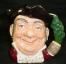 "Toby Mug Large Rare Mine Host 7"" Royal Doulton D6468 England 1957 Vintage"